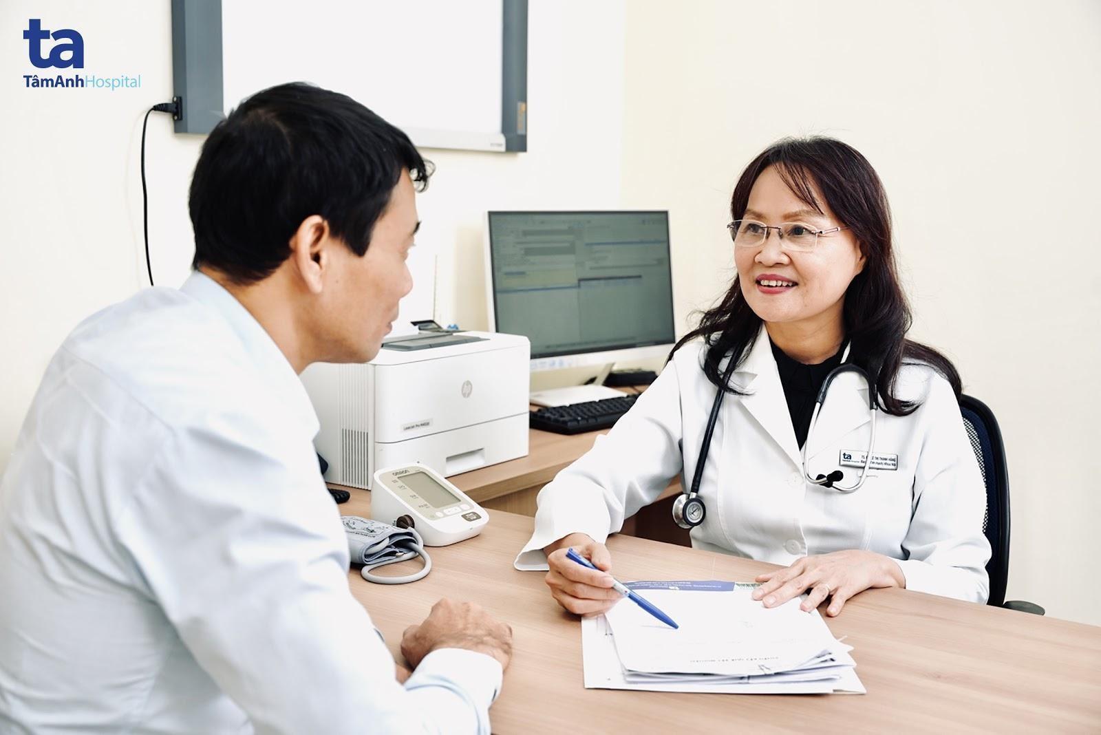 Dựa vào kết quả siêu âm tim, bác sĩ sẽ tư vấn và hướng dẫn phác đồ điều trị phù hợp cho bệnh nhân.