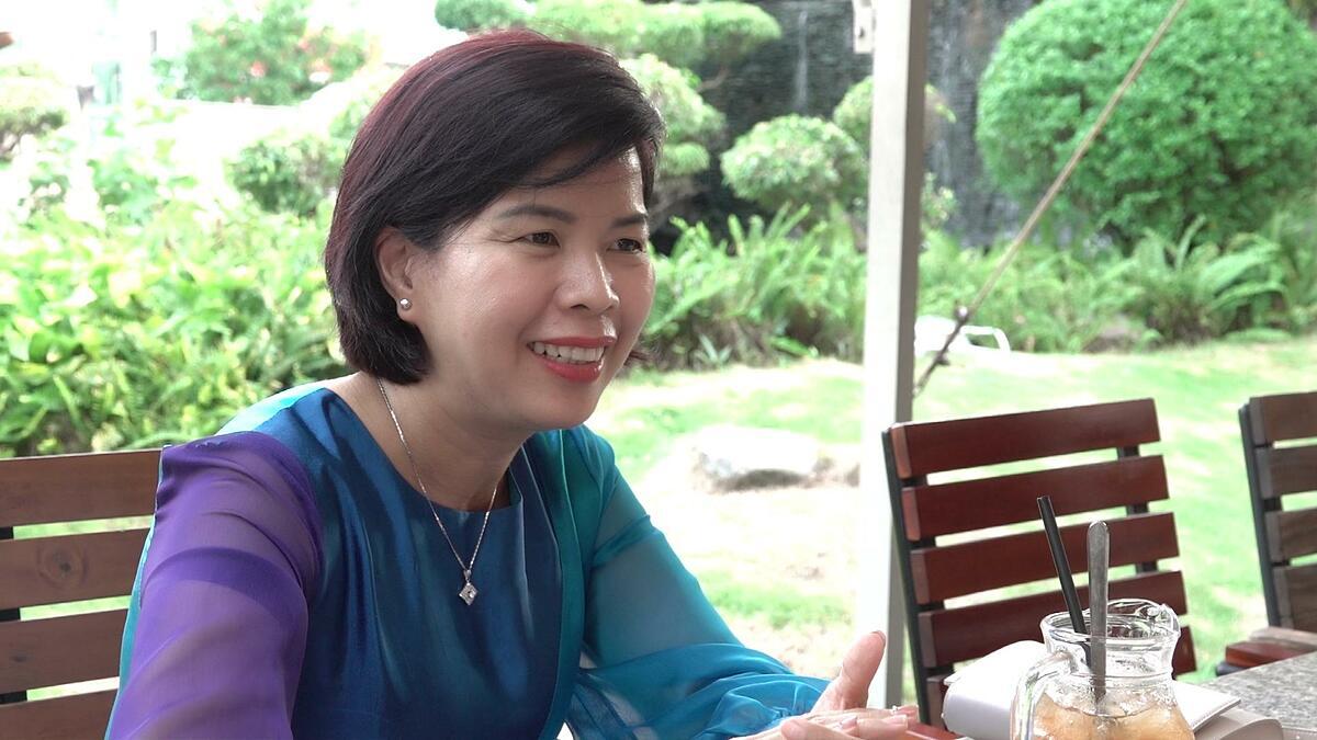 Chị Ngọc khuyên các mẹ muốn cải thiện chiều cao cho con tốt nhất nên đưa trẻ đi khám dinh dưỡng để được chuyên gia thăm khám, tư vấn và đưa ra thực đơn phù hợp.