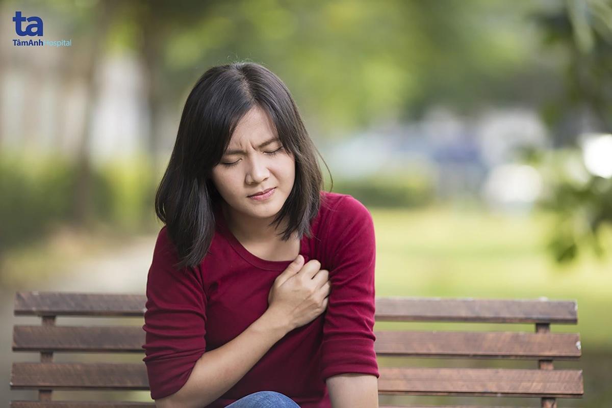 Tim bị suy yếu khiến bệnh nhân mệt mỏi, khó thở.