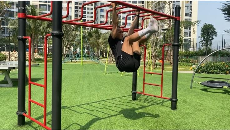 Nên tăng cường độ tập luyện dần dần, tránh tập quá sức trong thời gian ngắn. Ảnh: Lê Cầm