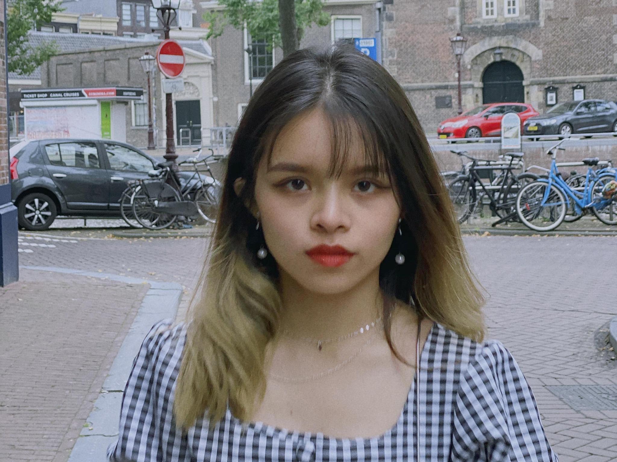 Trần Hồng Yên, 21 tuổi, du học sinh Việt Nam tại thành phố Münster, Đức. Ảnh: Nhân vật cung cấp.