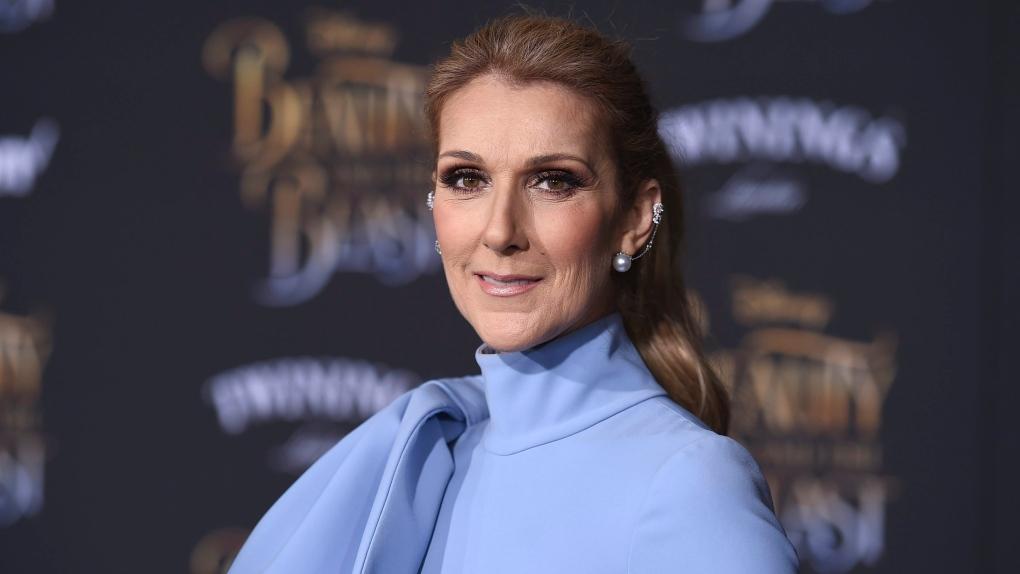 Celine Dion đến dự buổi công chiếu của bộ phim Người đẹp và quái vật tại Nhà hát El Capitan, Los Angeles năm 2017. Ảnh: AP.