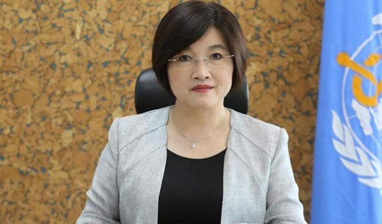 Ttiến sĩ Li Ailan, Trưởng đại diện WHO tại Campuchia. Ảnh: WHO