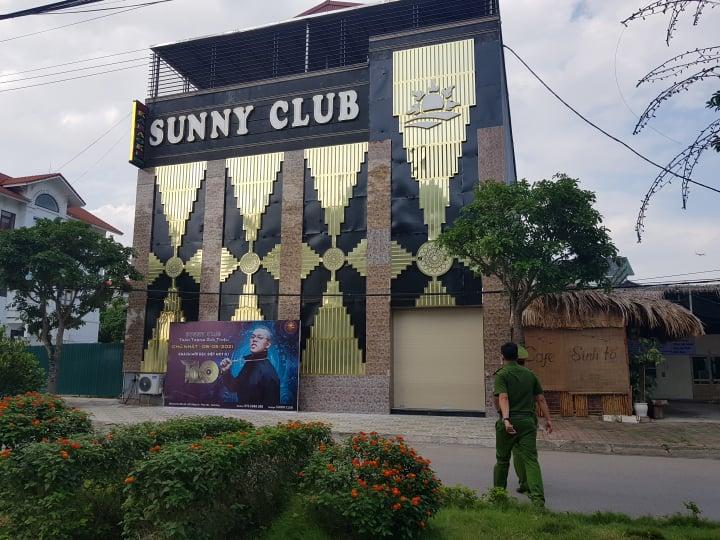 Quán bar Sunny tại Vĩnh Phúc. Ảnh: V.Thu.