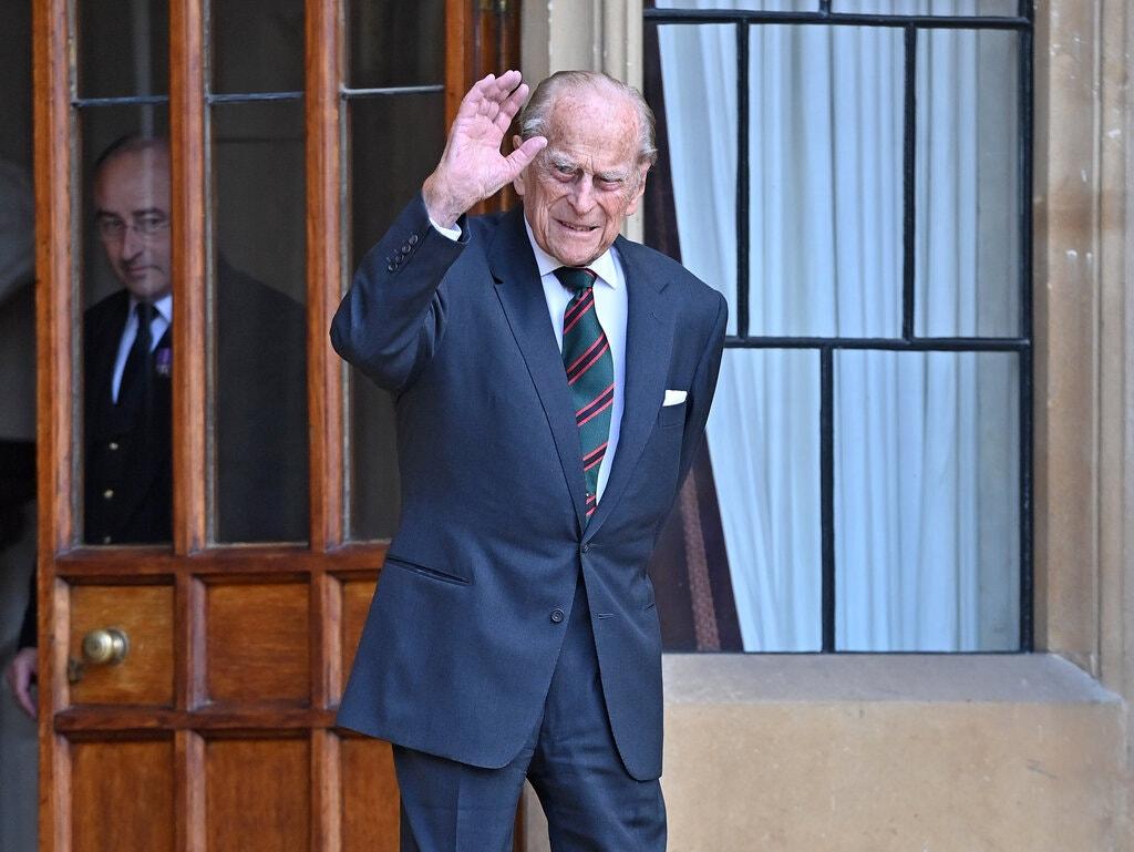 Hoàng thân Philip tại Lâu đài Windsor ở Windsor, Anh, tháng 7/2020. Ảnh: NY Times