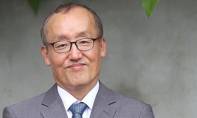 iến sĩ Kidong Park, Trưởng đại diện WHO tại Việt Nam. Ảnh:WHO.