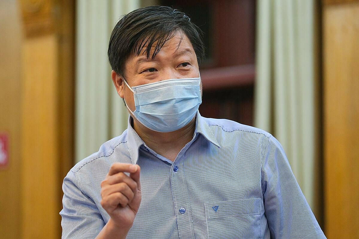 Ông Trần Như Dương, Phó viện trưởng Viện vệ sinh Dịch tễ Trung ương. Ảnh: Phạm Thắng.