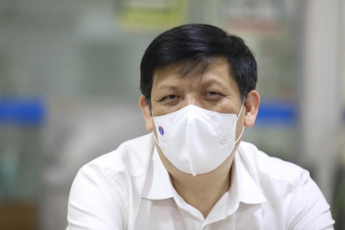 Bộ trưởng Y tế Nguyễn Thanh Long. Ảnh:Ngọc Thành.