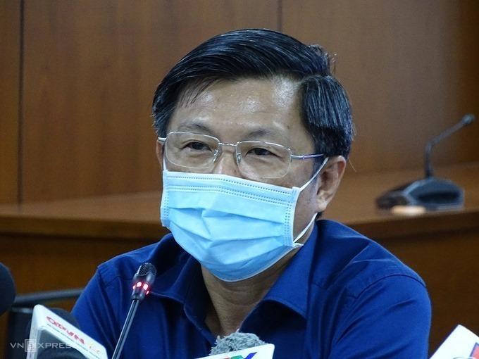 Bác sĩ Nguyễn Trí Dũng, Giám đốc Trung tâm Kiểm soát bệnh tật TP HCM. Ảnh: Hà An.