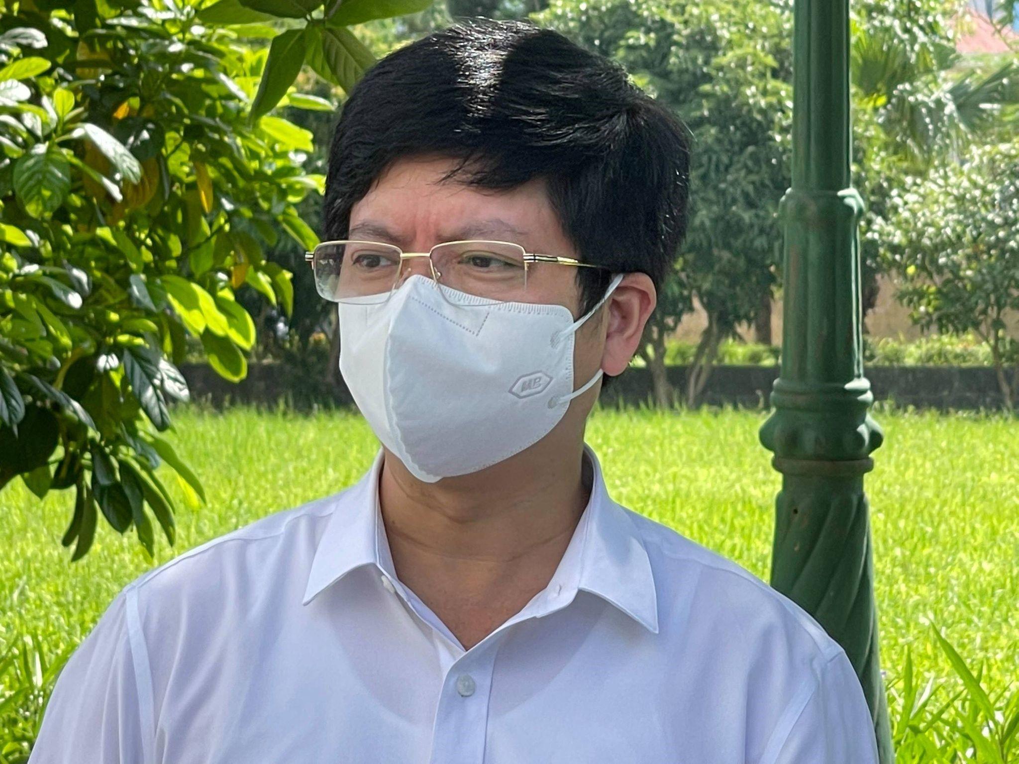 Ông Nguyễn Trọng Khoa, Phó Cục trưởng Quản lý Khám, Bộ Y tế. Ảnh: Ngọc Mai.