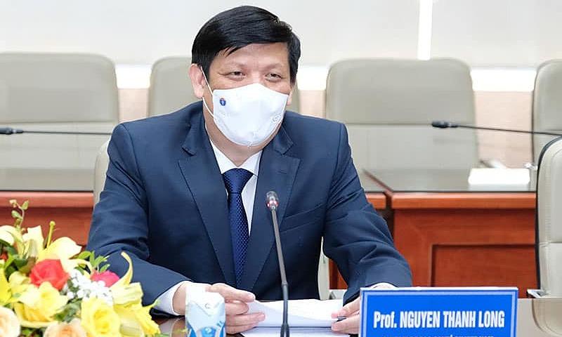 Bộ trưởng Nguyễn Thanh Long làm việc với các đại sứ quán các nước Australia, Pháp và Thụy Sỹ, ngày 8/6. Ảnh: Trần Minh.