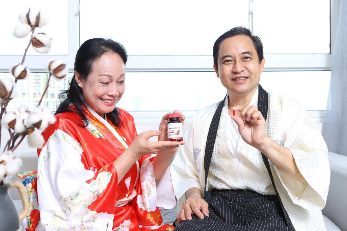 Sự kết hợp giữa Nattokinase và men gạo đỏ góp phần ngừa đột quỵ cho người sau tuổi 50 bị mỡ máu cao.