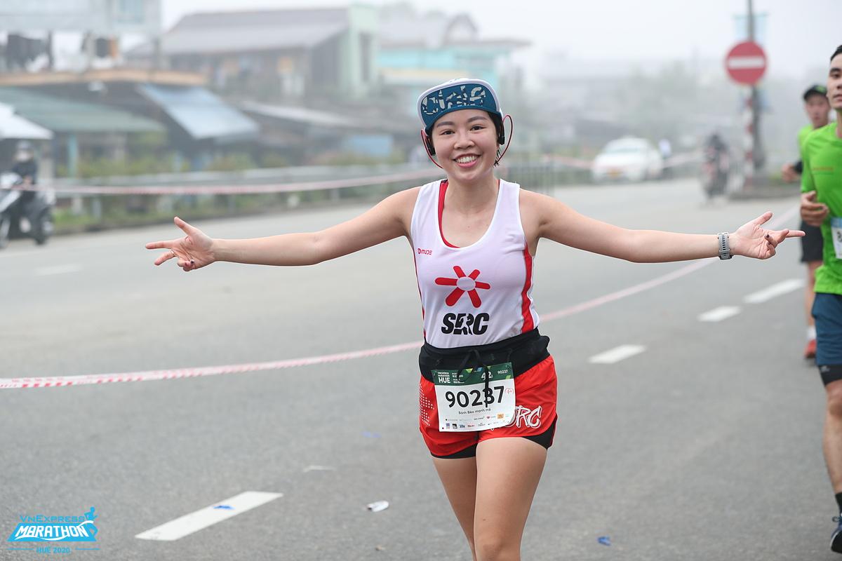 Tập luyện 3 buổi một tuần phù hợp cho hầu hết mọi người. Ảnh: VnExpress Marathon.