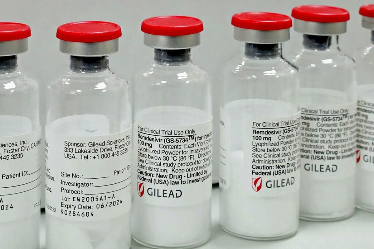 Thuốc remdesivir được FDA cấp phép sử dụng vào tháng 10/2021. Ảnh: Shutterstock
