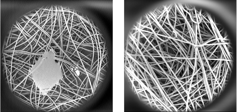Hình ảnh phóng to màng lọc công nghệ Nano.