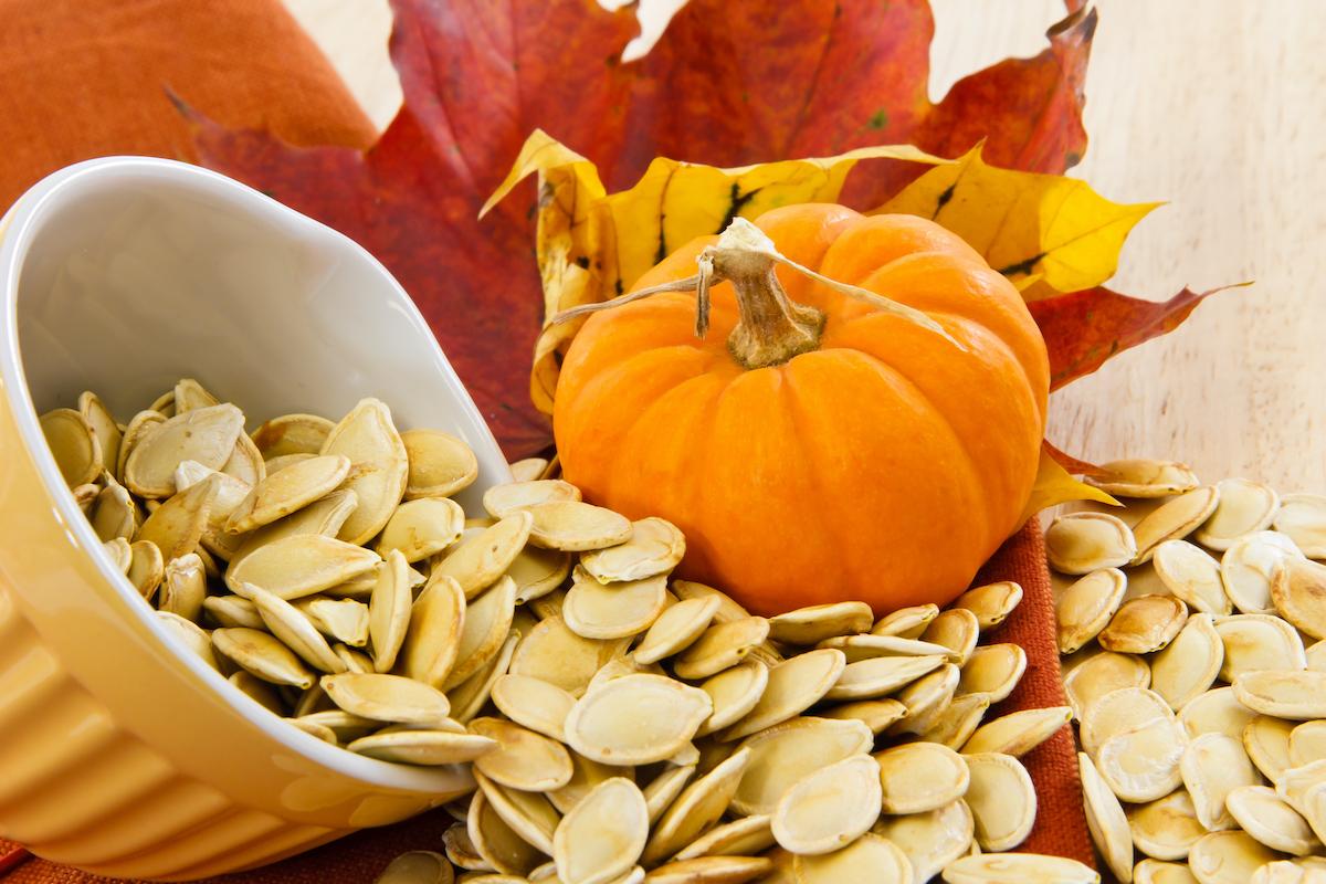 Hạt bí ngô tốt cho người bệnh cao huyết áp. Ảnh: timesnowhindi
