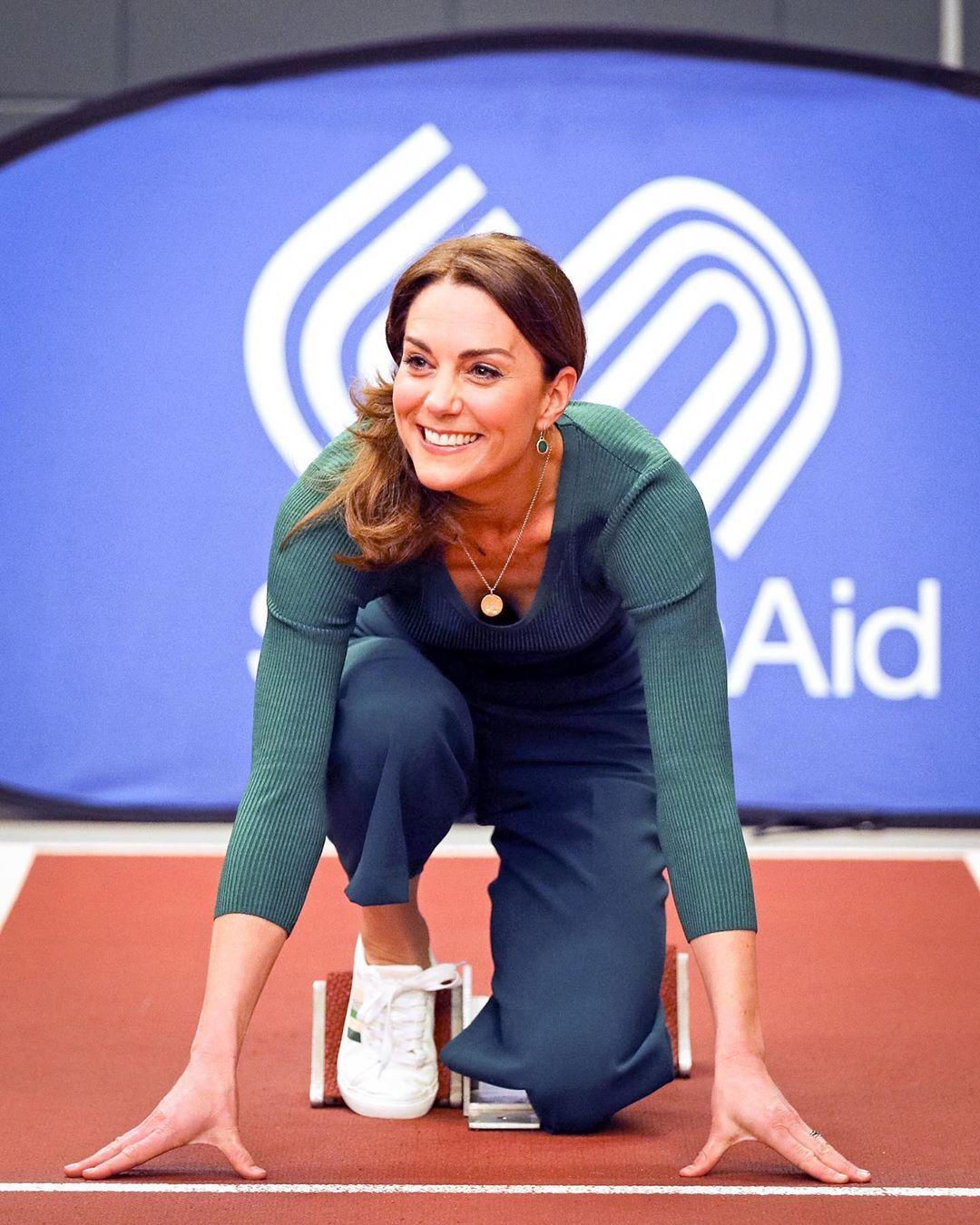 Kate Middleton trong một sự kiện thể thao. Ảnh: MC