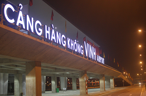Sân bay Vinh. Ảnh: Nguyễn Hải