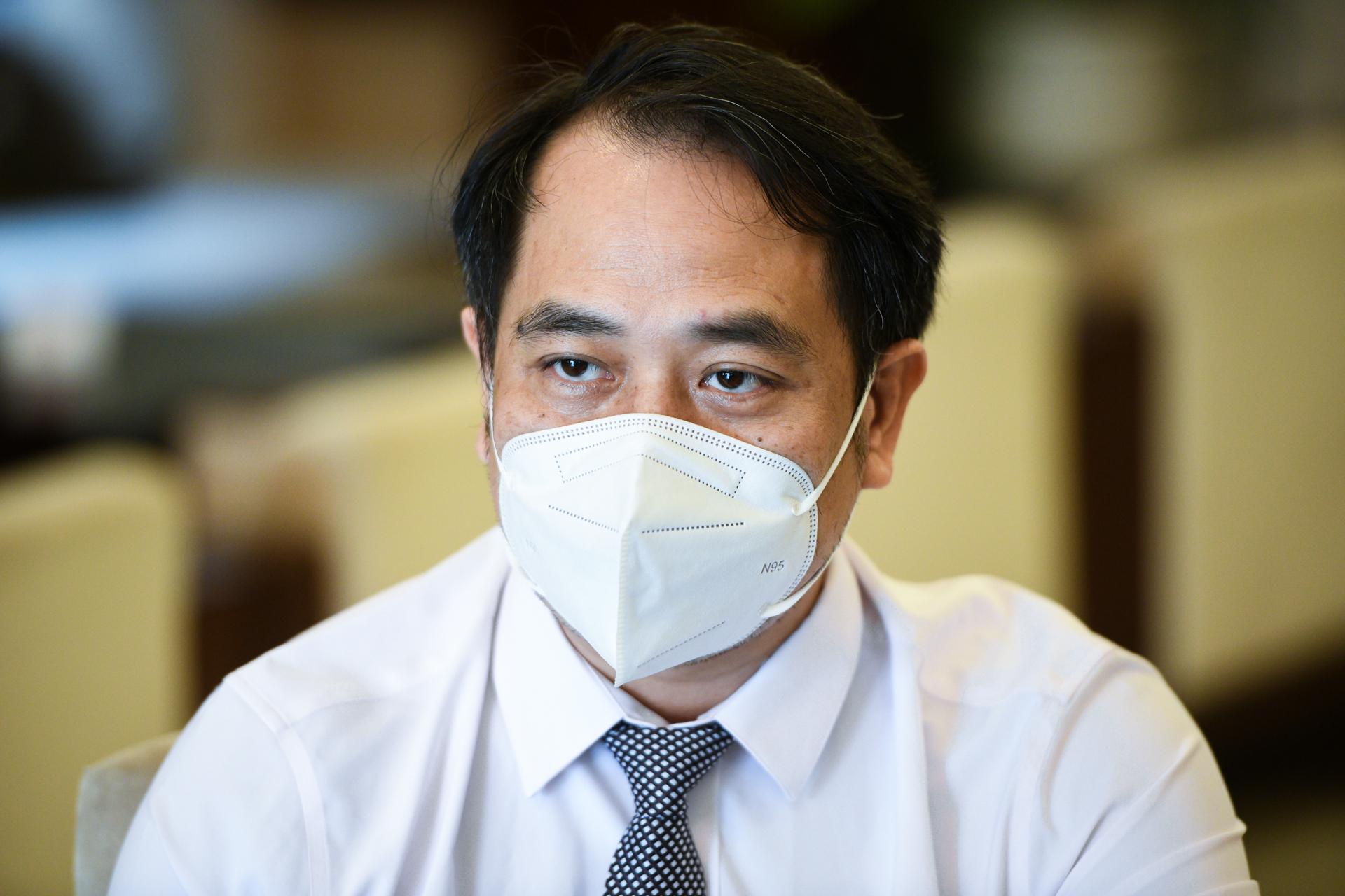 Bác sĩ Nguyễn Trung Cấp, Phó giám đốc Bệnh viện Bệnh nhiệt đới Trung ương. Ảnh: Bộ Y tế.