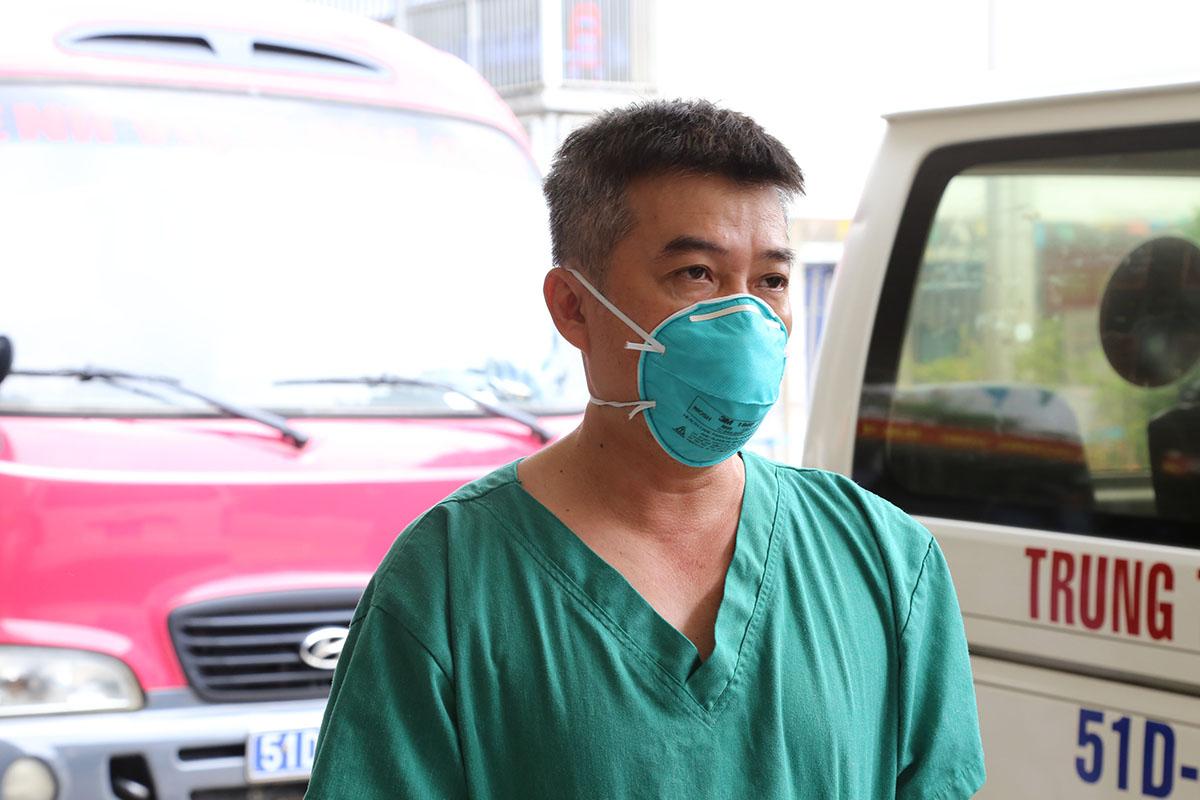Bác sĩ Trần Thanh Linh, Phó Khoa Hồi sức Cấp cứu, Bệnh viện Chợ Rẫy. Ảnh do bệnh viện cung cấp.