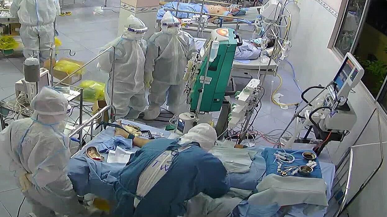35 bệnh nhân Covid-19 ở BV Phổi Đồng Tháp nặng