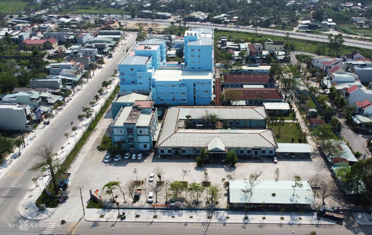 Bệnh viện Phụ sản - Nhi nằm trong kế hoạch thành lập biện viện dã chiến điều trị Covid-19. Ảnh: Đắc Thành.