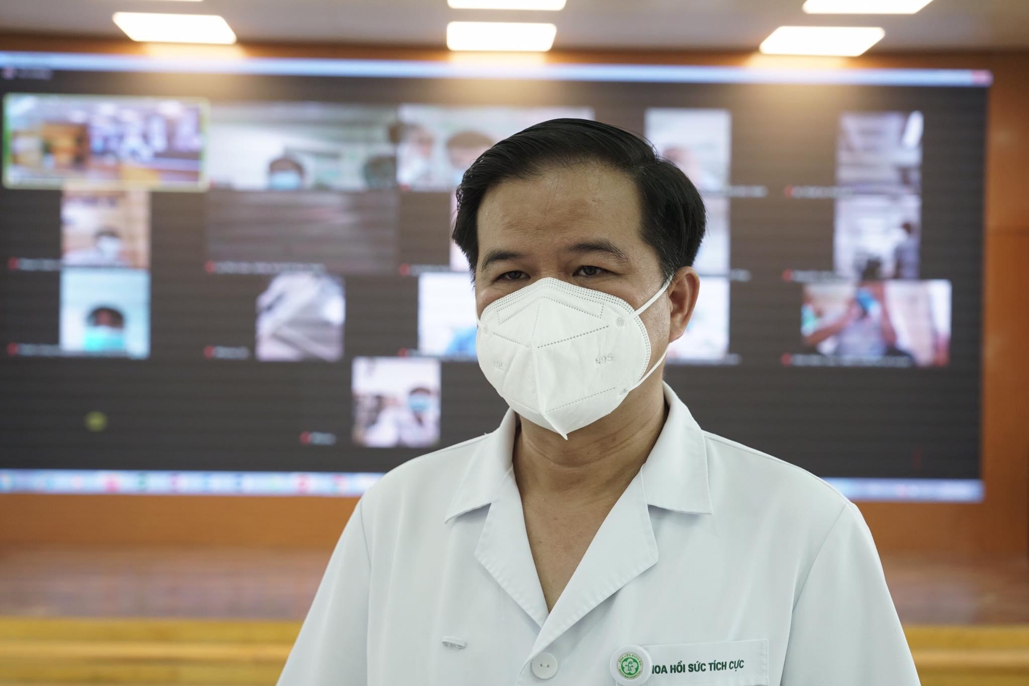 Phó giáo sư Đào Xuân Cơ, Phó giám đốc Bệnh viện Bạch Mai. Ảnh: Thế Anh.