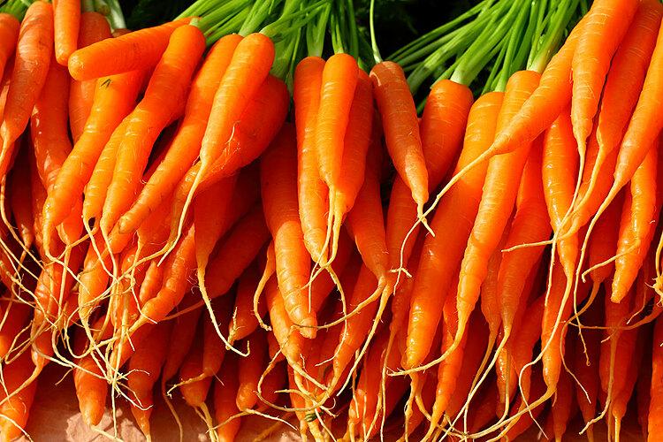 Cà rốt không chỉ bổ phổi mà còn tốt cho sức khỏe nói chung. Ảnh: Amadea Morningstar