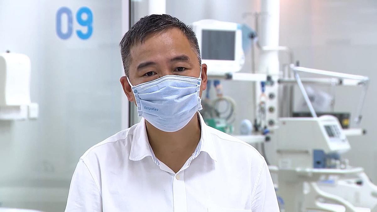 PGS TS Nguyễn Lân Hiếu, giám đốc bệnh viện Đại học Y Hà Nội. Ảnh: Bộ Y tế