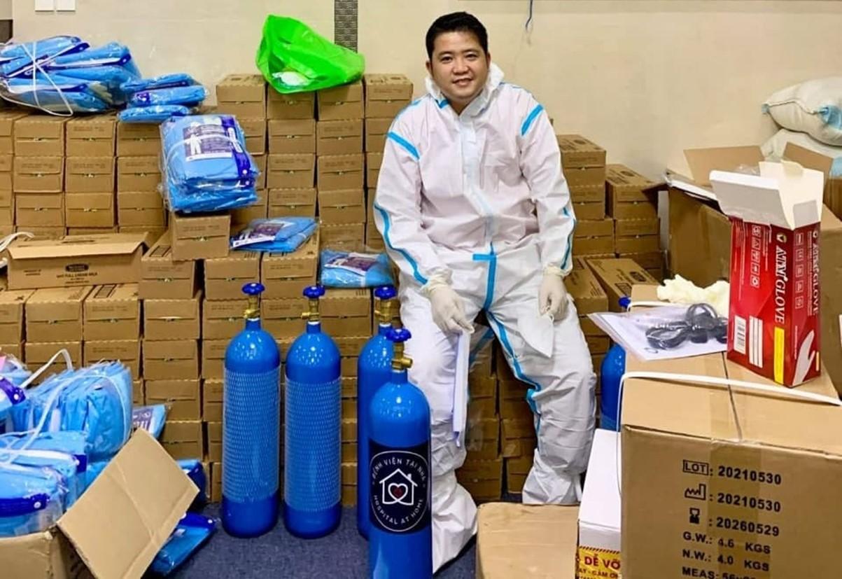 Anh Nguyễn Tuấn Khởi đến từ Vĩnh Long và đang sinh sống tại TP HCM.