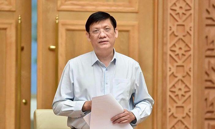 Bộ trưởng Y tế Nguyễn Thanh Long. Ảnh:Nhật Bắc