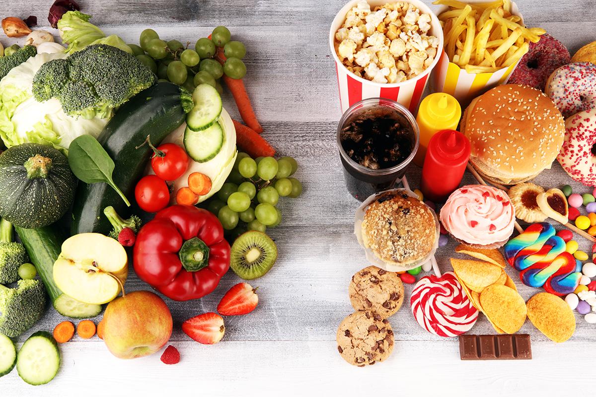 Ăn quá dư hoặc quá thiếu bất kỳ loại chất dinh dưỡng nào đều không tốt cho sức khỏe. Ảnh: Shutterstock