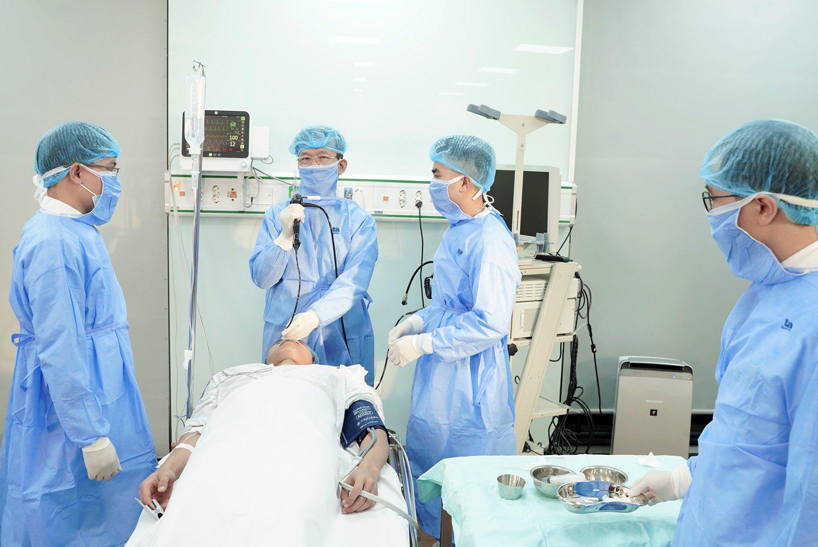 BVĐK Tâm Anh sẵn sàng tiếp nhận và điều trị người mắc BPTNMT trong dịch. Ảnh: BVĐK Tâm Anh