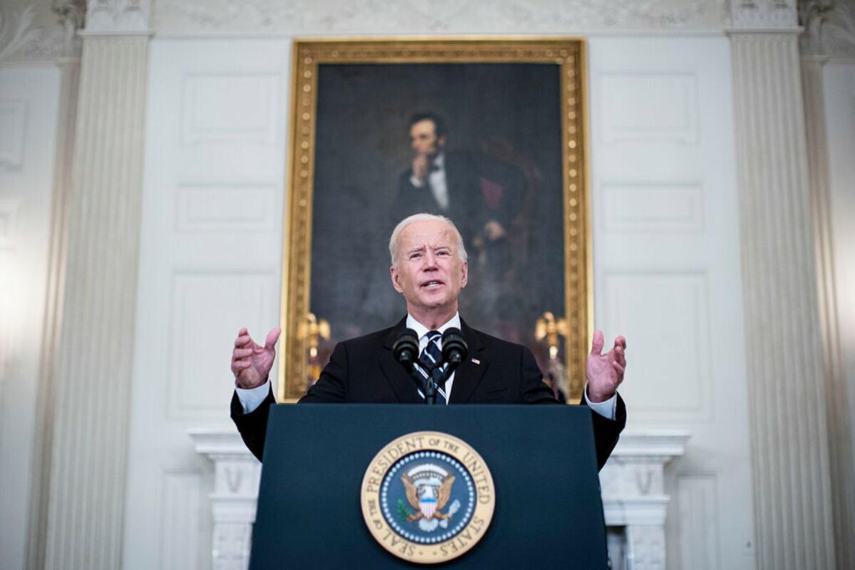 Tổng thống Joe Biden tại Nhà Trắng, ngày 9/9. Ảnh: NY Times