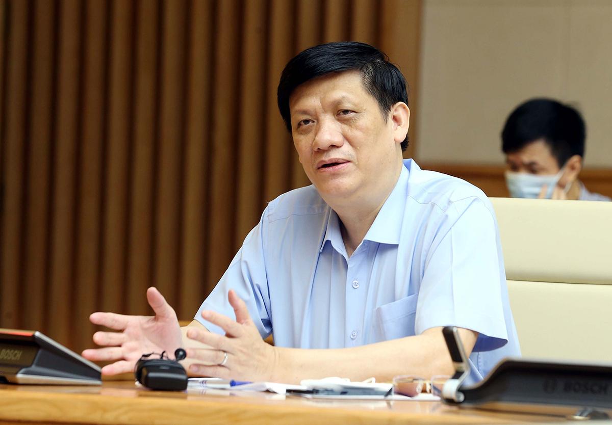 Bộ trưởng Y tế Nguyễn Thanh Long. Ảnh:VGP