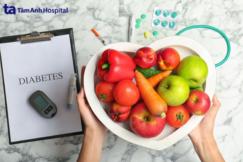 Chế độ ăn uống đóng vai trò cực kỳ quan trọng, giúp bệnh nhân tiểu đường kiểm soát bệnh.