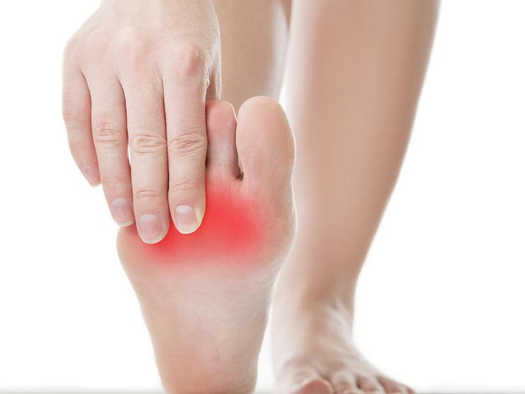 Biến chứng bàn chân do đái tháo đường có thể dẫn đến cắt cụt chi. Ảnh: Shutterstock.