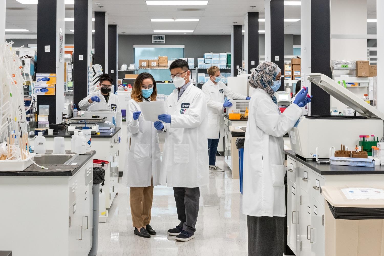 Phòng thí nghiệm của Arcturus Therapeutics (Mỹ).