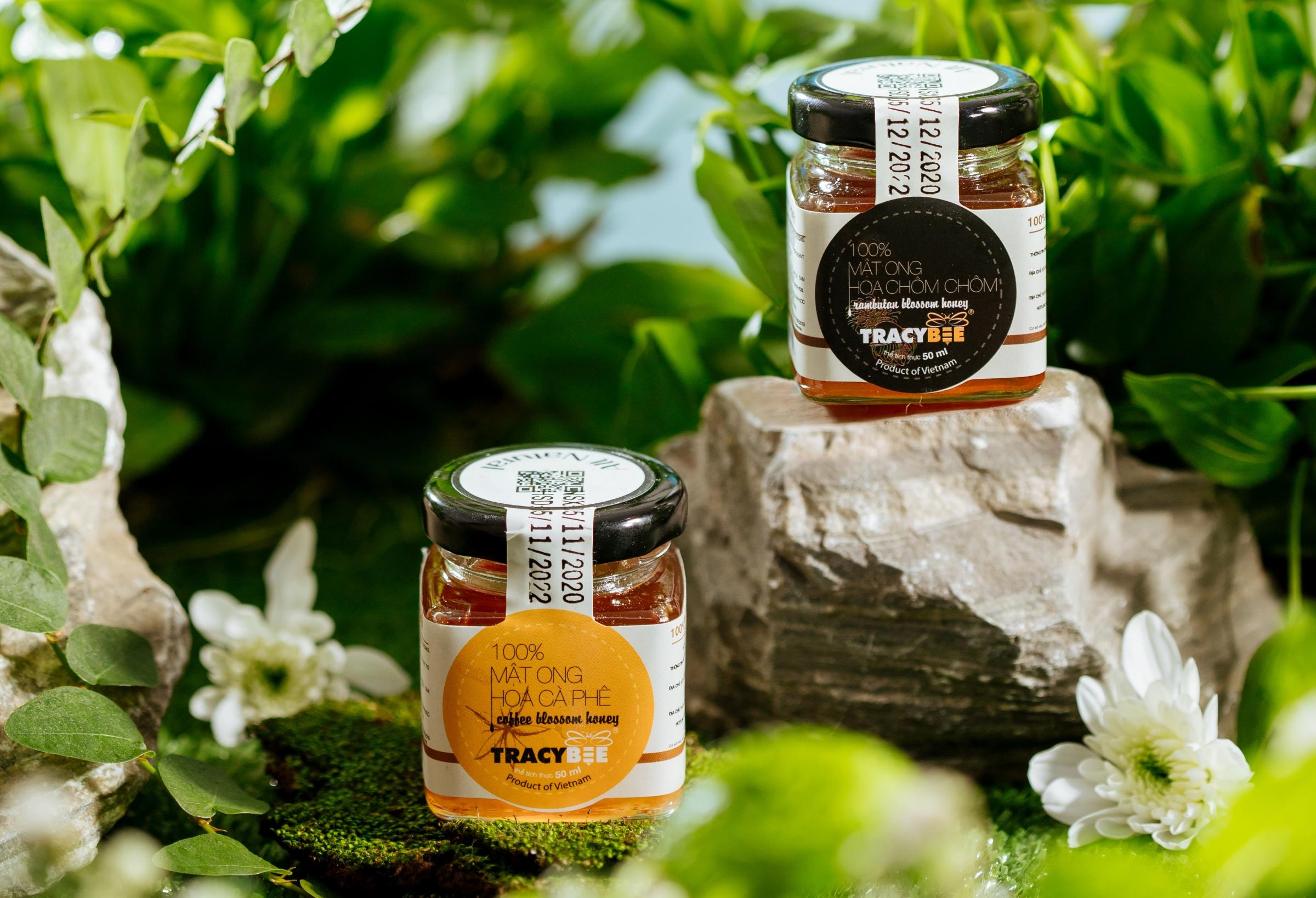 Tracybee có nhiều loại mật ong, đáp ứng đa dạng nhu cầu của người dùng. Ảnh: Tracybee