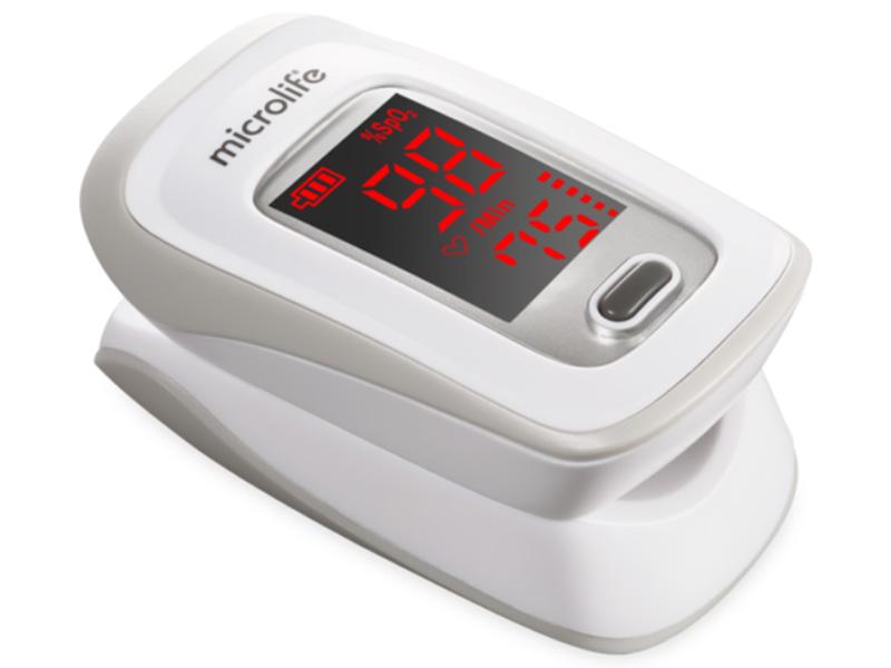 Màn hình hiển thị nồng độ oxy trong máu SpO2 là 98% và nhịp mạch là 75 lần/phút. Ảnh: Meta
