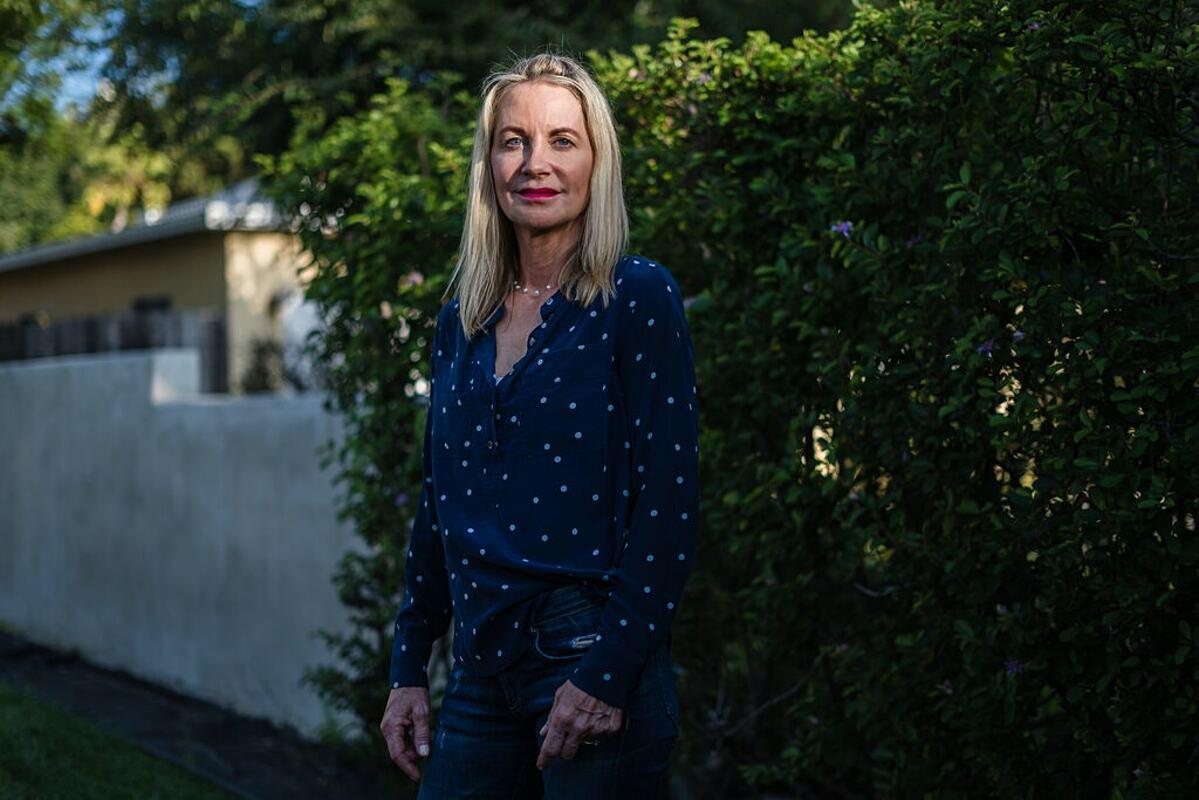 Amy Piccioni tại nhà riêng ở Solana Beach, California. Ảnh: NY Times