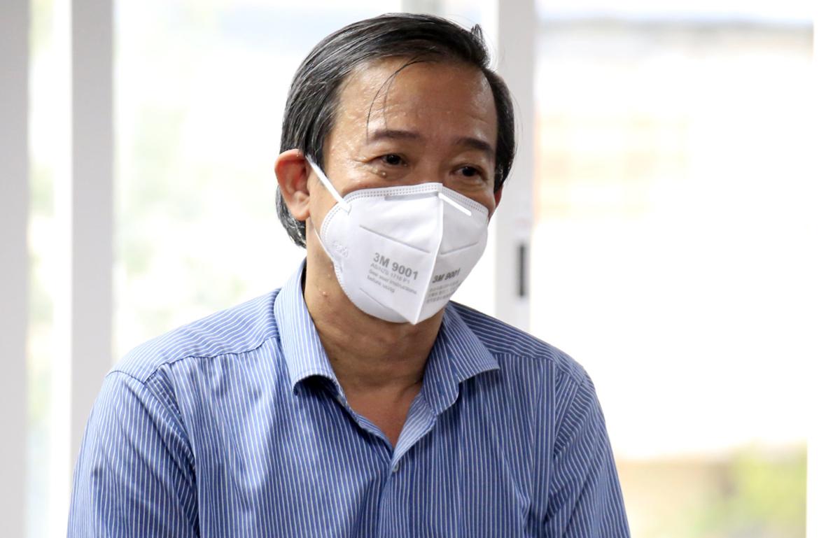 Phó Giám đốc Sở Y tế Nguyễn Văn Vĩnh Châu. Ảnh: Hữu Công